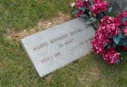 Harry Windsor Duvall, Sr