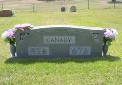 Mettie B. <i>Lester</i> Canady