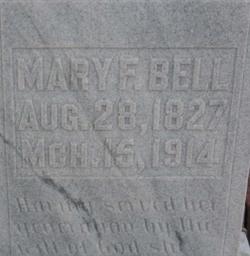 Mary F. <i>Strong</i> Bell