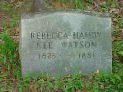 Rebecca <i>Watson</i> Hamby