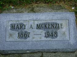 Mary A McKenzie