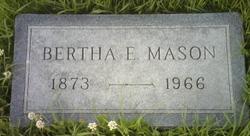 Bertha Electa <i>Avise</i> Mason