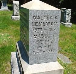Mabel F <i>Requa</i> Hemenway