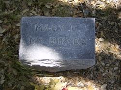 Mary Frances <i>Grey</i> McBryde