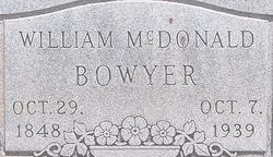 William McDonald Bowyer