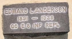 Edward L Anderson