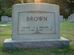 Virginia A Brown