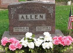 Elizabeth <i>Hanna</i> Allen