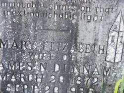 Mary Elizabeth <i>Dunn</i> Dunnam