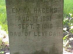 Emma Louisa <i>Cain</i> Hagens
