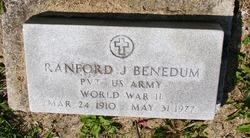Ranford J Benedum