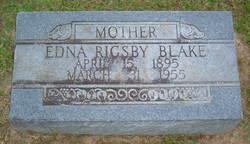 Edna <i>Rigsby</i> Blake