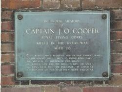 Capt Jack Oliver Cooper