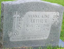 Vanna <i>King</i> Arthur