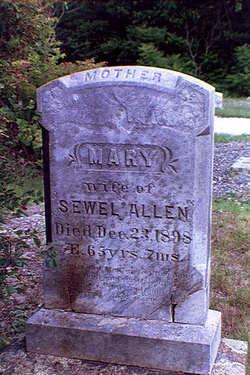 Mary <i>Grant</i> Allen