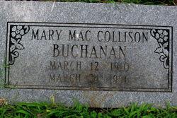 Mary Mac <i>Collison</i> Buchanan