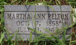 Martha Ann <i>Praytor</i> Pelton