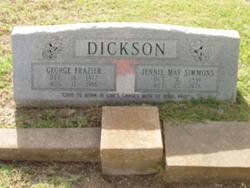 Jennie May Dickson