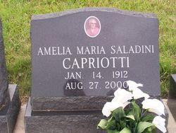 Ameilia Maria <i>Saladini</i> Capriotti