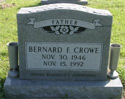 Bernard F Crowe
