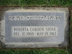 Zina Roberta <i>Cordon</i> Stone