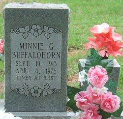 Minnie G Buffalohorn