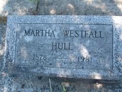 Martha Jane <i>Westfall</i> Hull