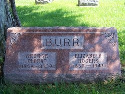 Elizabeth <i>Rogers</i> Burr