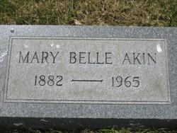 Mary Belle <i>Hoover</i> Akin