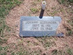 Johnny Alexander
