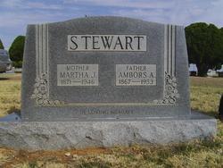 Martha Jane <i>Westerman</i> Stewart