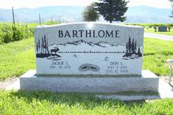 Donald Lynn Don Barthlome