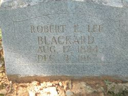Robert E Lee Blackard