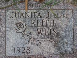 Juanita Janet <i>Blake</i> Weis