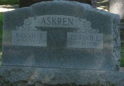 Nannie Elizabeth <i>Abel</i> Askren