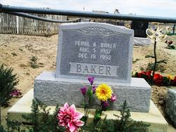 Pearl <i>Biddlecome</i> Baker