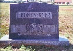 John T Froneberger