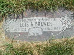 Lois Berniece <i>Rogers</i> Brewer