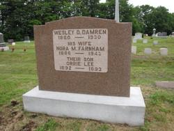 Nora M <i>Farnham</i> Damren