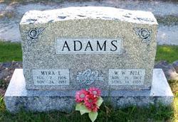 Myra Lucy <i>Hutcheson</i> Adams
