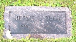 Bessie L <i>Nystrom</i> Buck