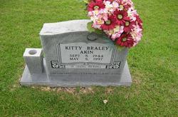 Kitty Pauline Kiddy <i>Braley</i> Akin