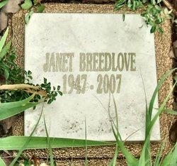 Janet R Breedlove
