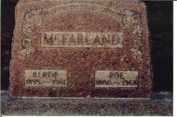James Monroe Roe McFarland