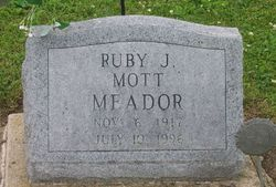 Ruby Jean <i>Mott</i> Meador