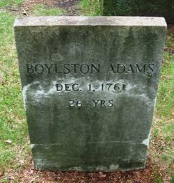 Boylston Adams