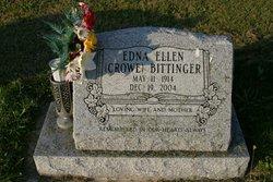 Edna Ellen <i>Crowe</i> Bittinger