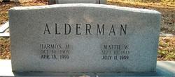 Harmon Maxey Alderman