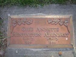 Glee Annette <i>Huntington</i> Aisenberry