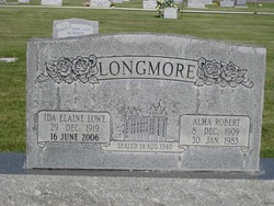Ida Elaine <i>Lowe</i> Longmore